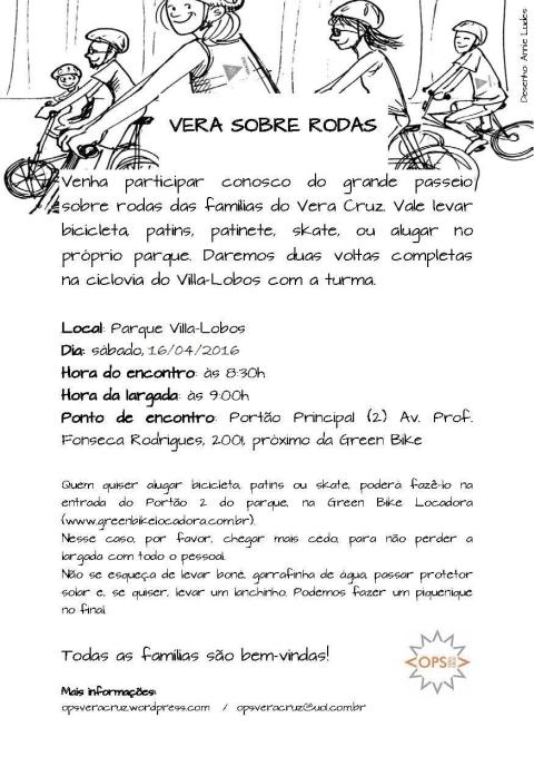 Vera Sobre Rodas2016